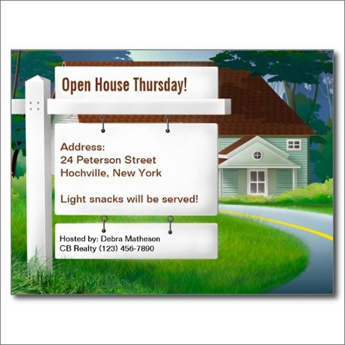 Open House Postcard Template 24 Best Real Estate Marketing Postcard Templates