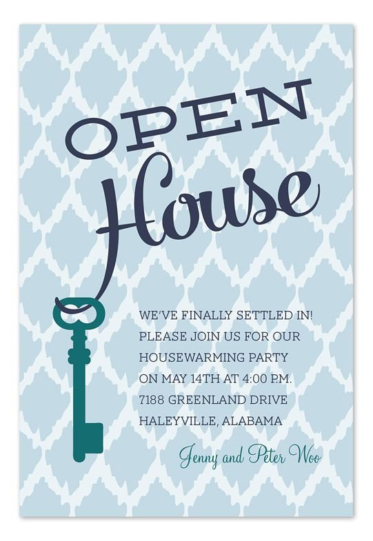 Open House Postcard Template 25 Best Ideas About Open House Invitation On Pinterest