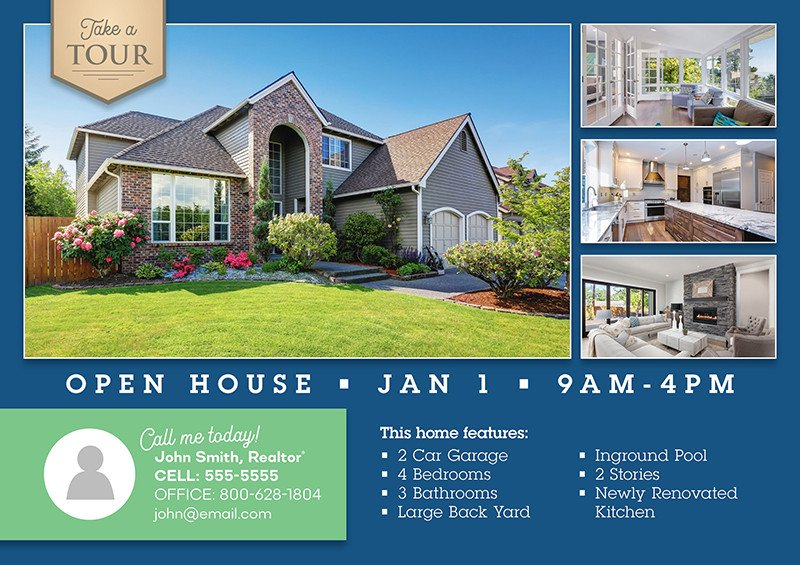 Open House Postcard Template 99 Genius Real Estate Postcard Mailers You Should Steal