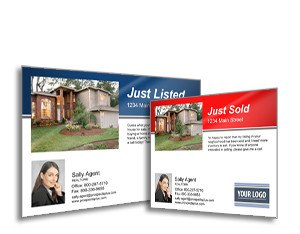 Open House Postcard Template Just Listed Just sold Postcards Prospectsplus