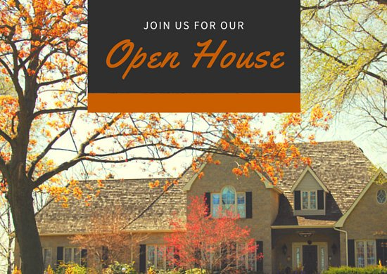 Open House Postcard Template Postcard Templates Canva