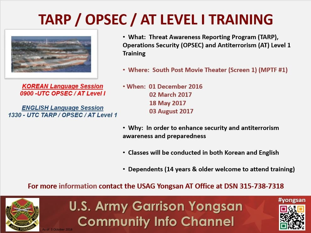 Opsec Plan Template Us Army Training Opsec Us Army Training
