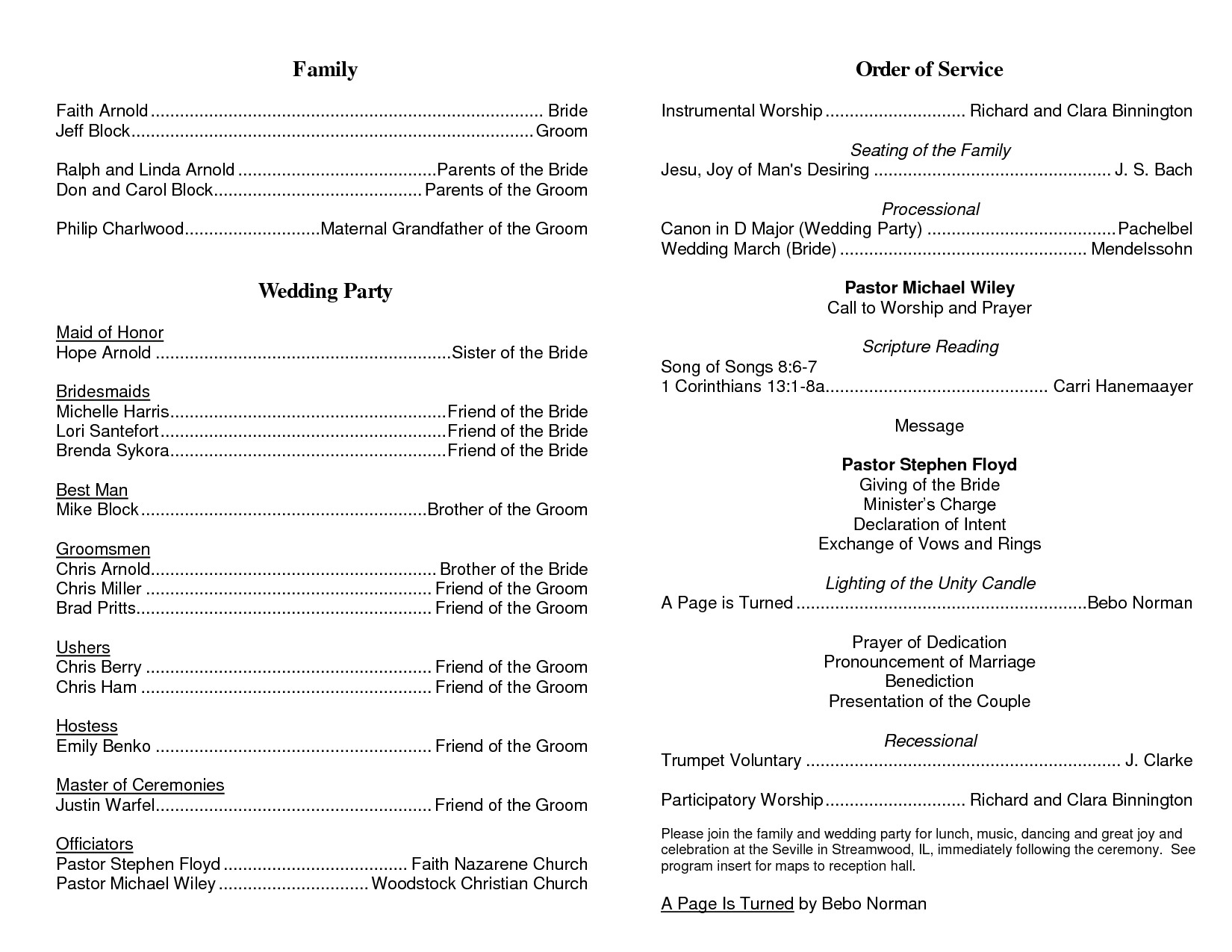 Order Of Worship Service Template Best S Of Church Programs order Service Church