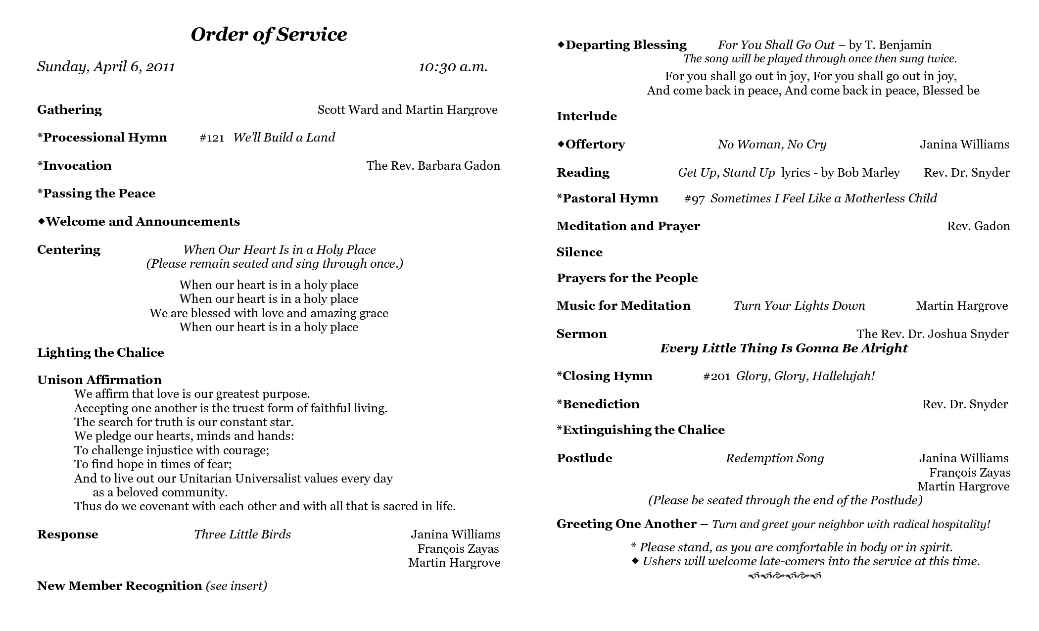 Order Of Worship Service Template Best S Of Sample Church Programs order Service