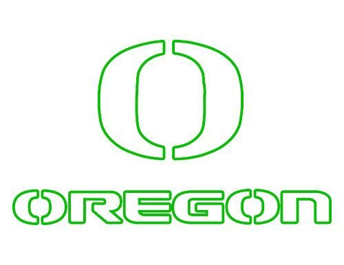 Oregon Ducks Pumpkin Stencil oregon Duck Pumpkins