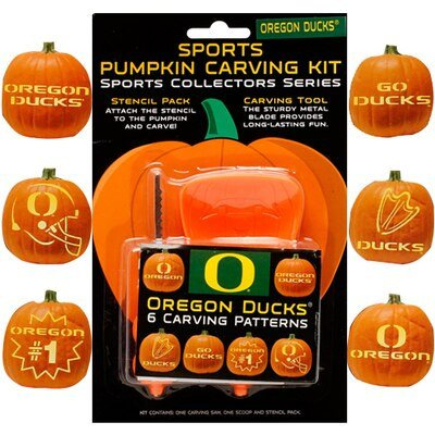 Oregon Ducks Pumpkin Stencil oregon Ducks Pumpkin Carving Kit Fanatics