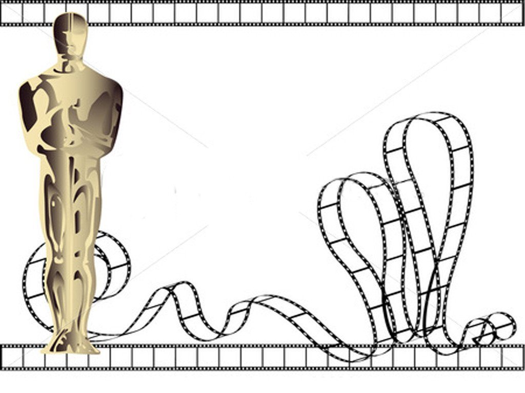 Oscar Statue Template Free Download Oscar Powerpoint Backgrounds