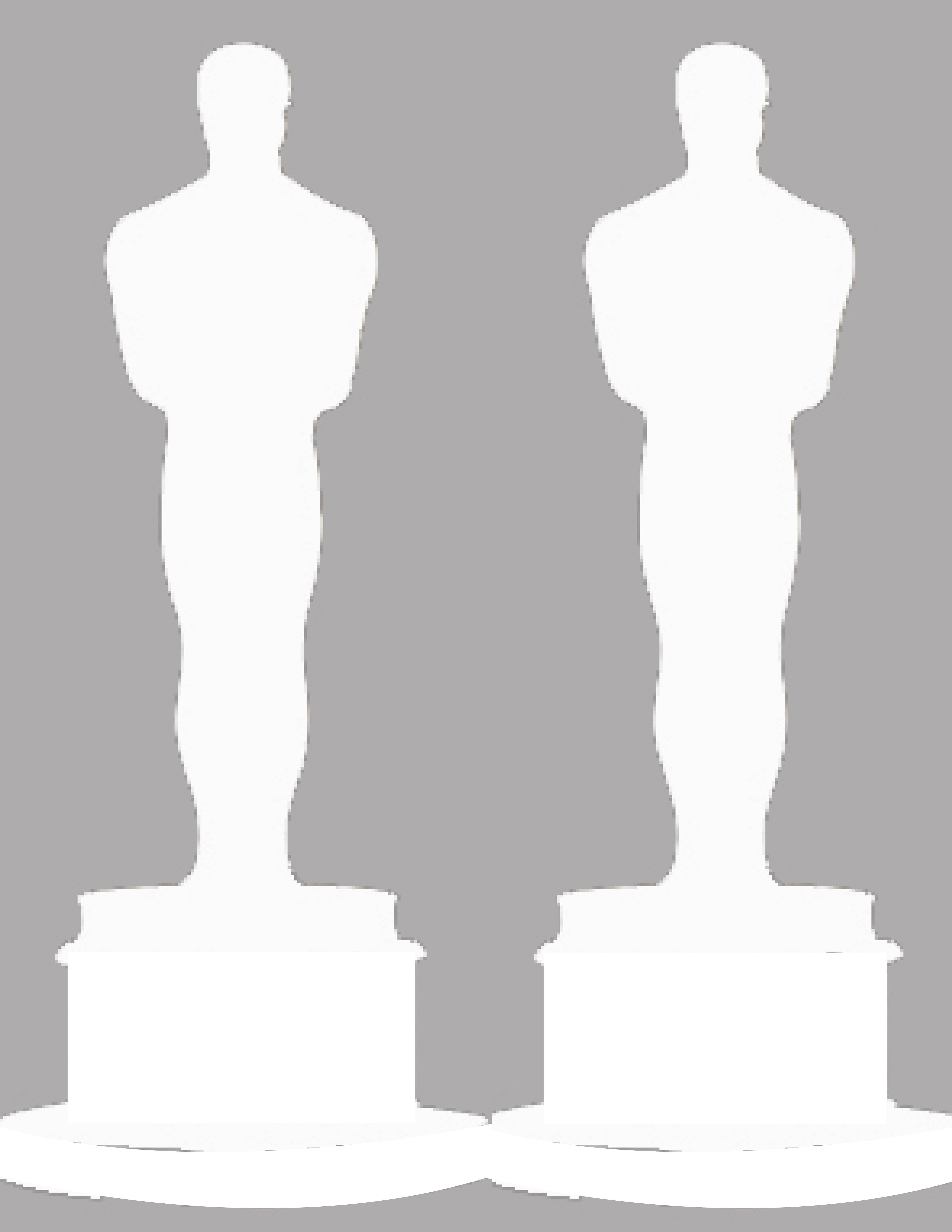 Oscar Statue Template Oscar Party