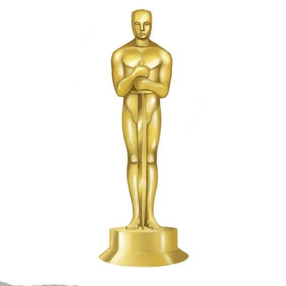 Oscar Statue Template Oscar Trophy Clipart Downloads