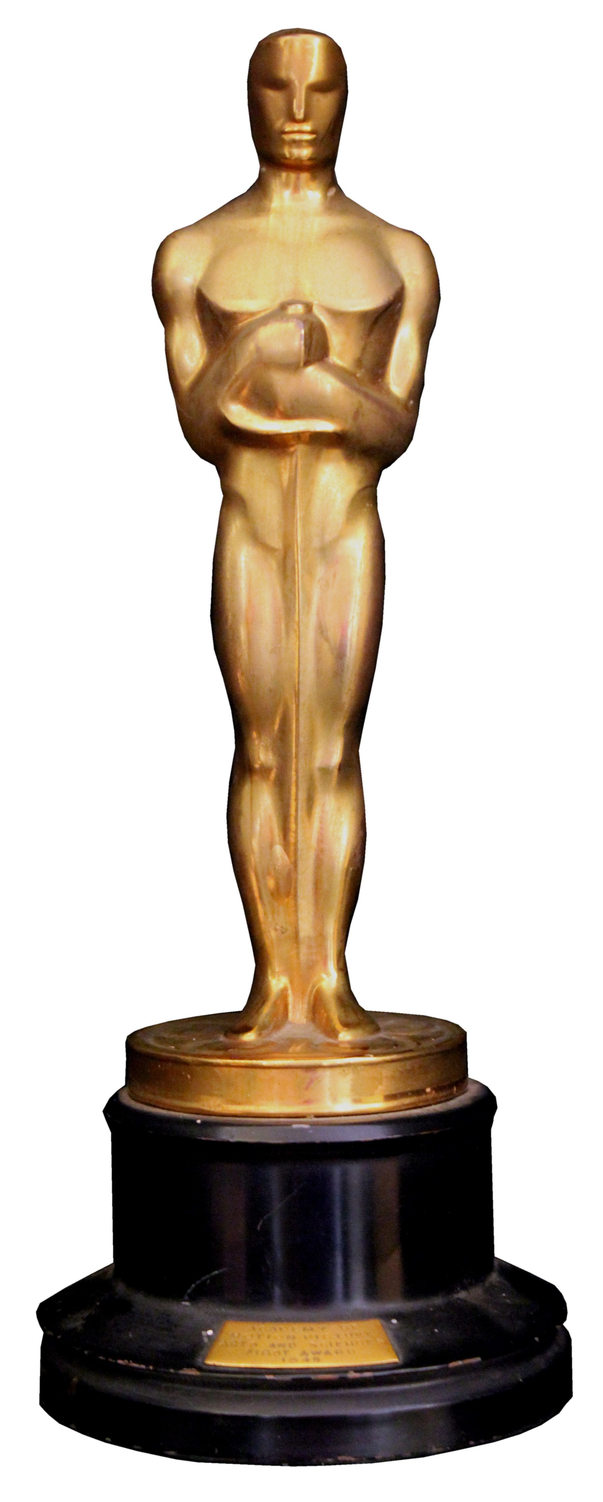 Oscar Statue Template Trophy Clipart Academy Award Pencil and In Color Trophy
