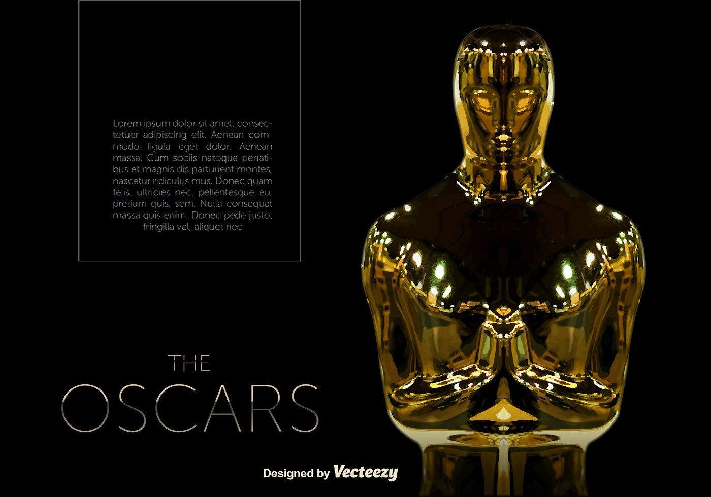 Oscar Statue Template Vector Oscar Statue Template Download Free Vector Art