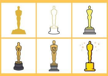 Oscar Statue Template Vector Oscar Statue Template Free Vector Download