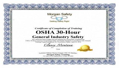 Osha 10 Card Template Best S Of Osha Certificate Template Osha Training