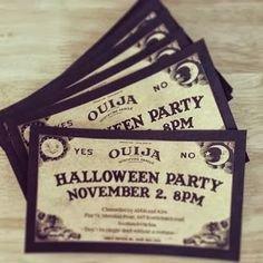Ouija Board Invitation Template Ouija Inspired Spirit Board Invites Digital Printable