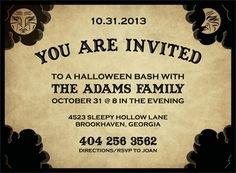 Ouija Board Invitation Template Ouija Party Invitations for Halloween Printable Templates