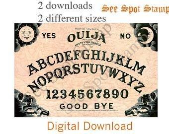 Ouija Board Invitation Template Popular Items for Pdf Invitation On Etsy