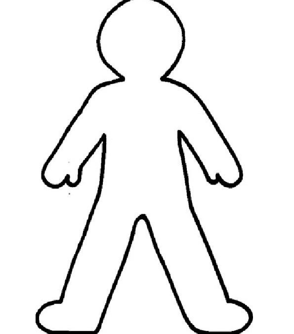 Outline Of A Human Human Body Outline Point 1