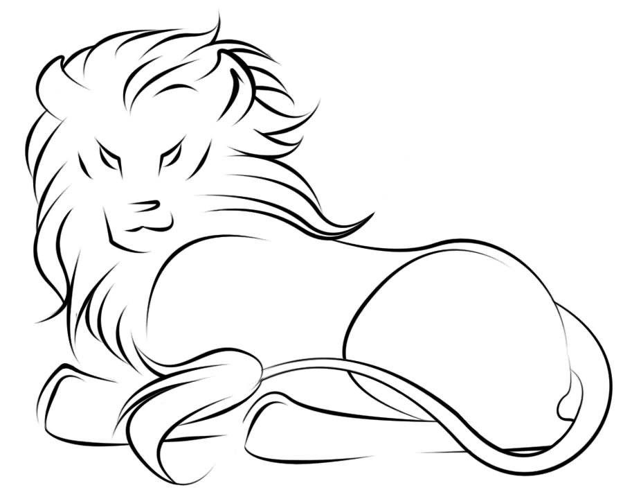 Outline Of A Lion 10 Unique Lioness Tattoo Design Ideas