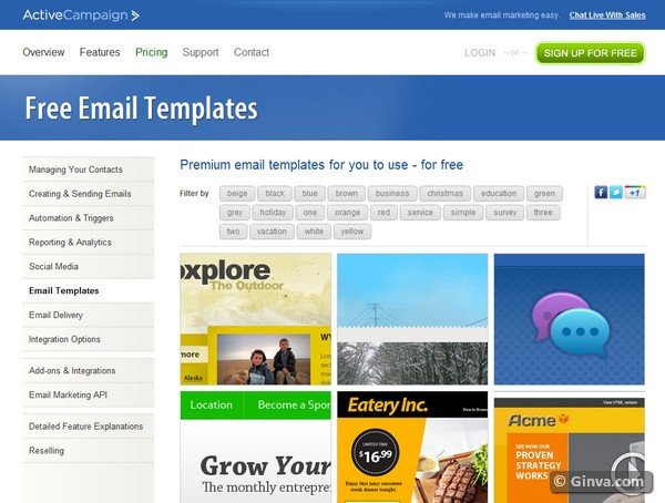 Outlook Email Newsletter Template 10 Excellent Websites for Downloading Free HTML Email