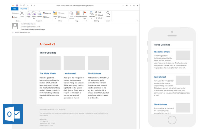 Outlook Email Newsletter Template 9 Places to Find Quality Email Newsletter Templates In 2017