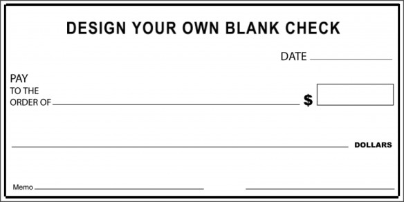 Oversized Check Template Free Check Examples