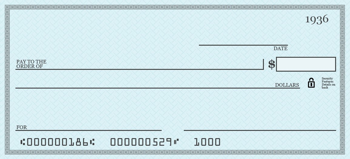 Oversized Check Template Free How Do You Write A Check to Pay for something