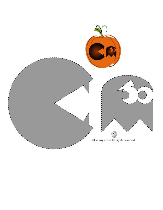 Pac Man Pumpkin Stencil Best 25 Funny Pumpkins Ideas On Pinterest