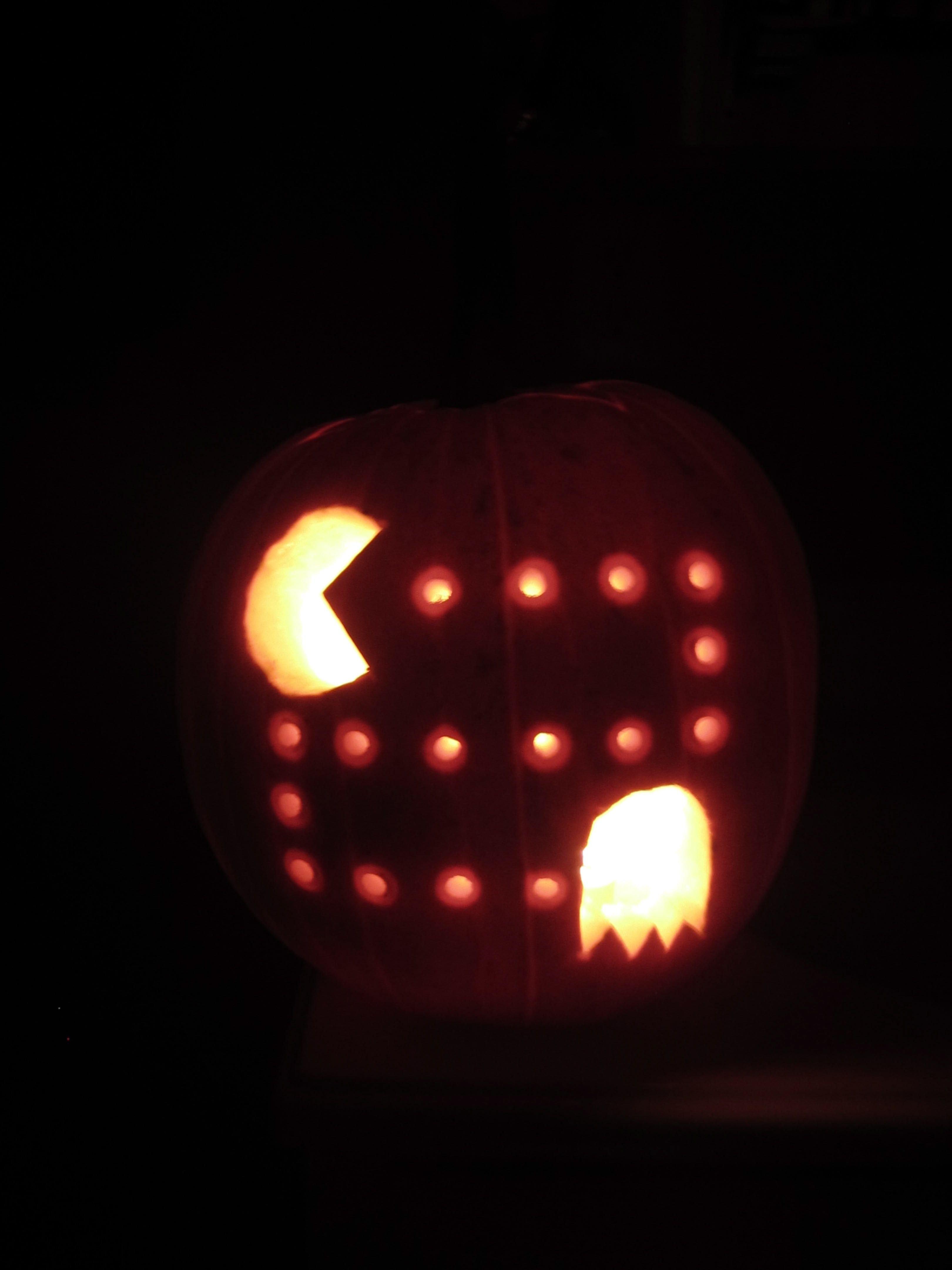 Pac Man Pumpkin Stencil Pac Man Pumpkin …
