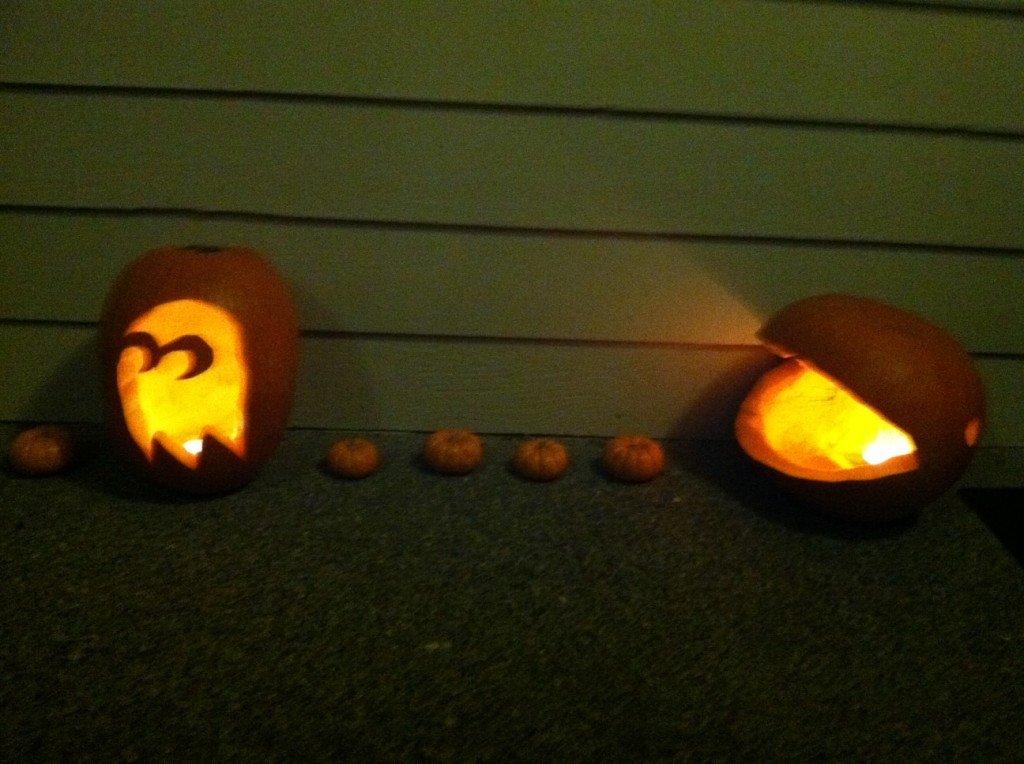 Pac Man Pumpkin Stencil Pumpkin Carving
