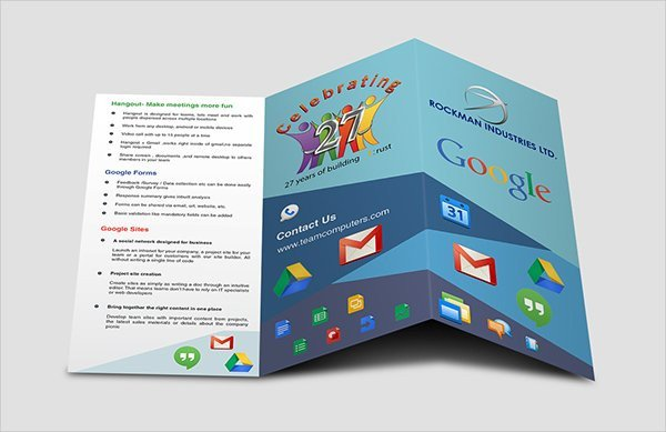 Pamphlet Template Google Docs 17 Fabulous Google Brochure Templates Psd Ai Indesign