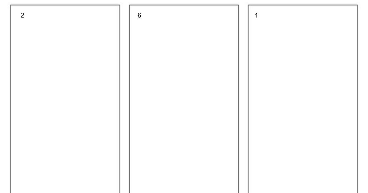 Pamphlet Template Google Docs Blank Trifold Brochure Template for Google Slides Google