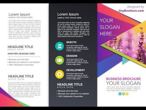 Pamphlet Template Google Docs Brochure Template Google Docs