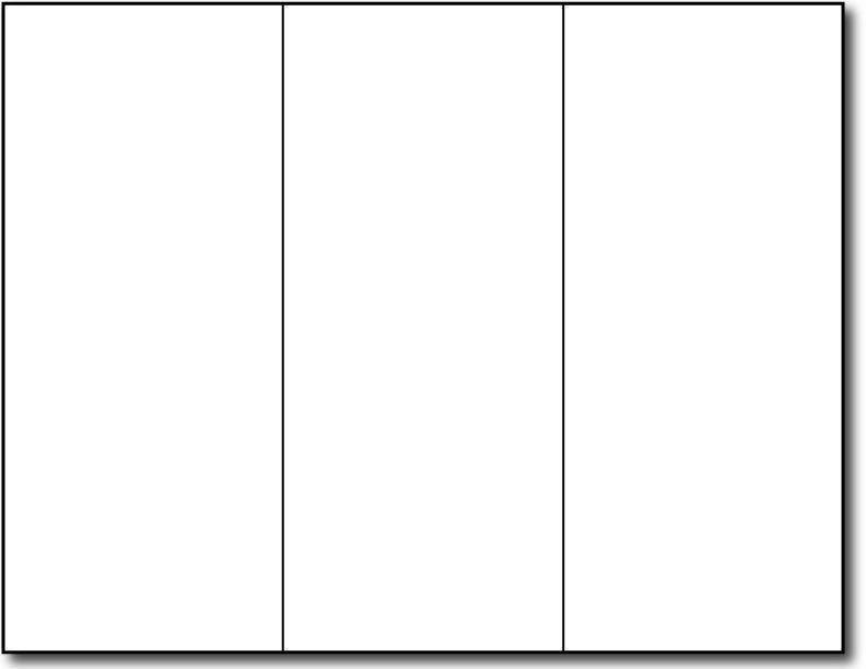 Pamphlet Template Google Docs Tri Fold Brochure Template for Google Slides