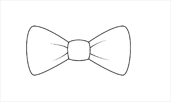 Paper Bow Tie Template Bow Tie