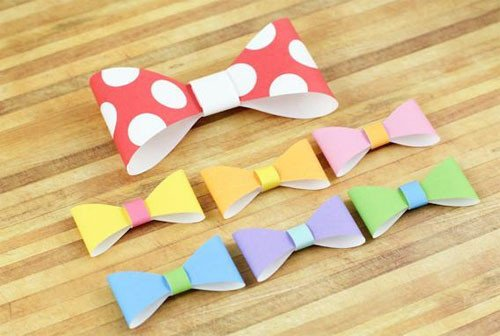 Paper Bow Tie Template Our Favorite Free Paper Craft Patterns Craftsy