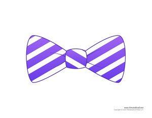 Paper Bow Tie Template Paper Bow Tie Templates
