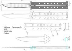 Paper butterfly Knife Template Cs Go Knives Cutsheet by Returacanviantart On