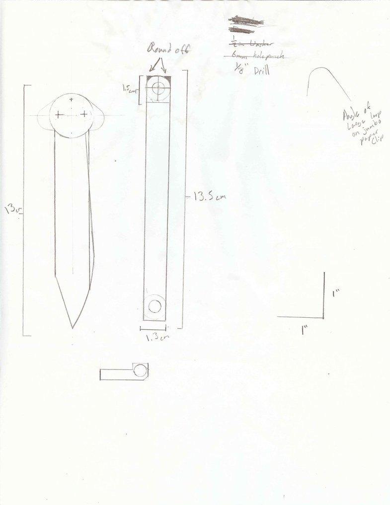 Paper butterfly Knife Template Paper Balisong Cutsheet by Returacan On Deviantart