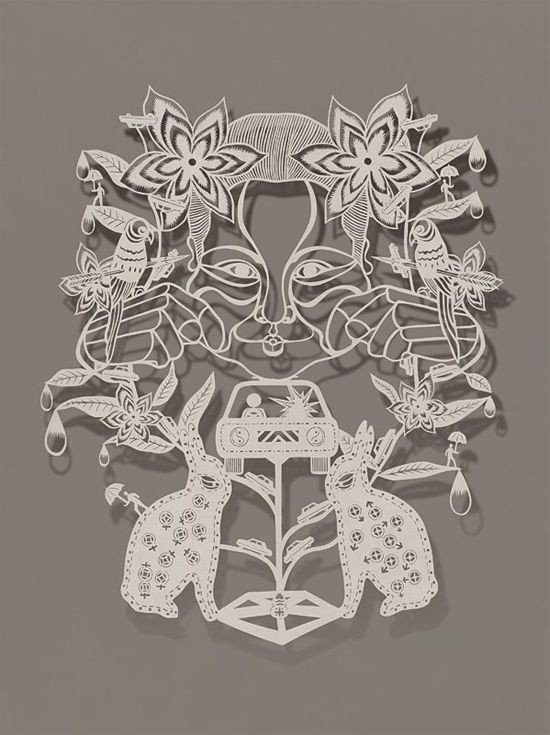 Paper Cut Out Designs 25 Best Ideas About Paper Cut Out Art On Pinterest