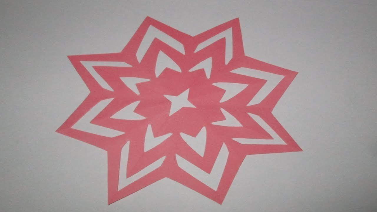Paper Cut Out Designs How to Make Simple&easy Paper Cutting Flower Designs Diy