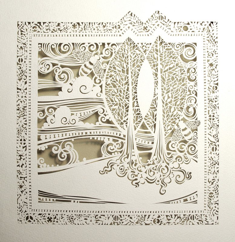 Paper Cut Out Designs Intricate Cut Paper Designs From Sara Burgess