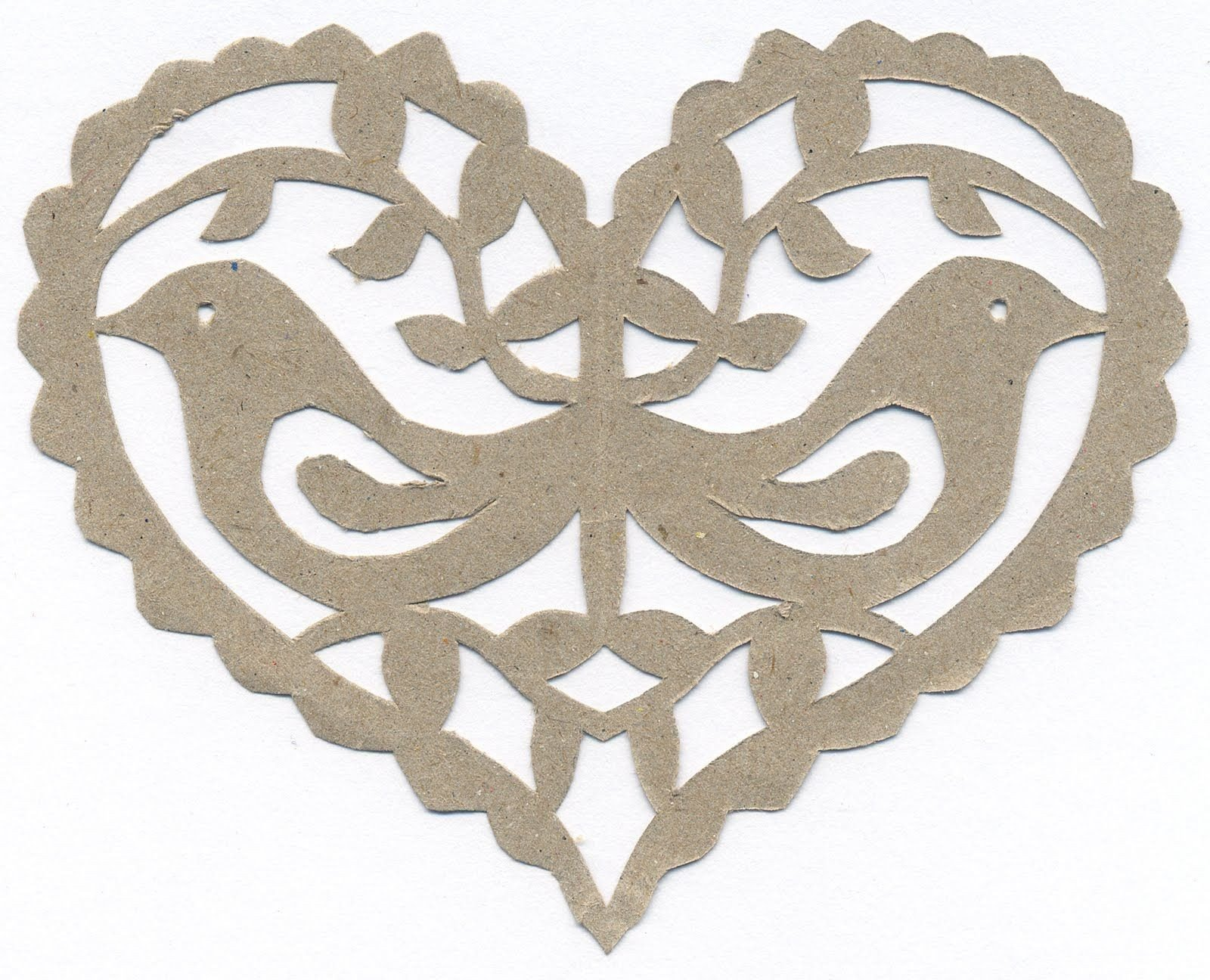 Paper Cut Out Designs Pretty Papar Crafts