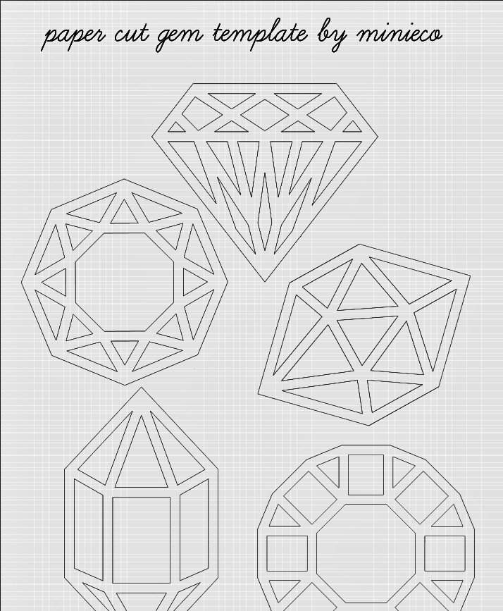 Paper Cut Outs Templates Diy Cut Clarity Clockwork