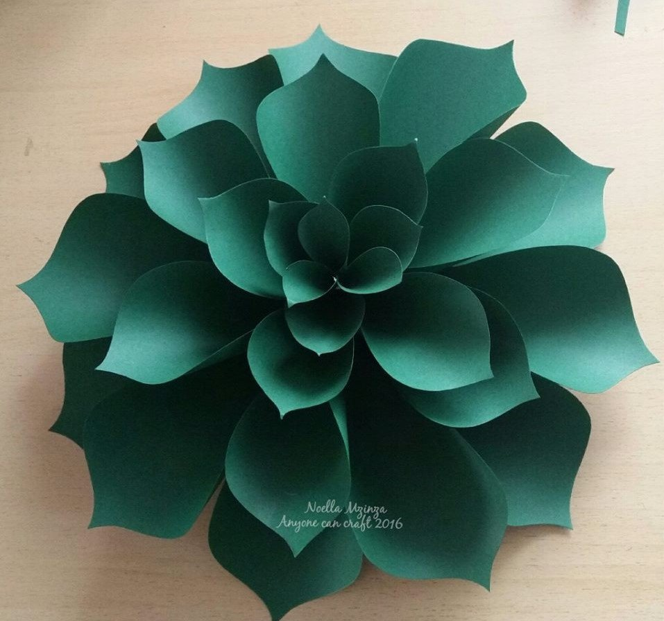 Paper Flower Petal Templates Flower Petals – Anyone Can Craft