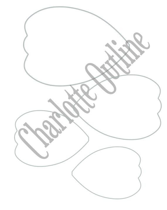 Paper Flower Template Free Diy Giant Paper Flower Printable Templates Flower Template