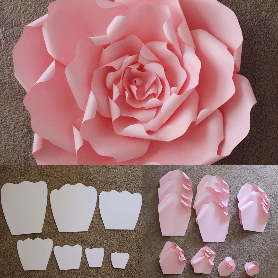 Paper Flower Template Free Here are the Templates that are Used to Make A Beautiful