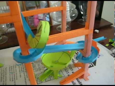 Paper Roller Coaster Printout Bonnie S Paper Rollercoaster