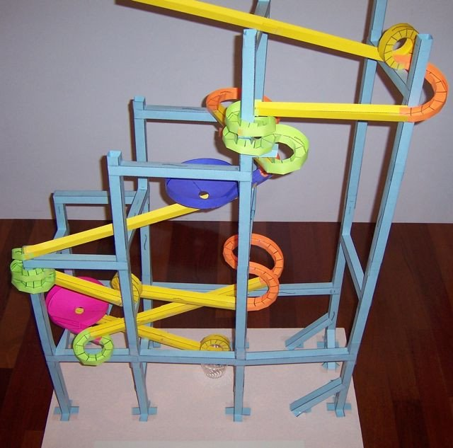 Paper Roller Coaster Printout Paper Roller Coasters Gallery