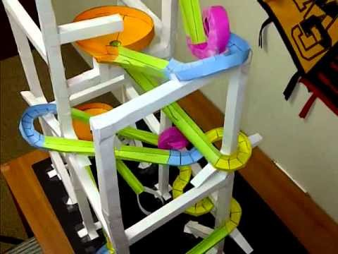 Paper Roller Coaster Printout Paper Rollercoaster