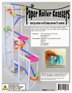 Paper Roller Coaster Printout the Hemulen S Dress Building A Roller Coaster